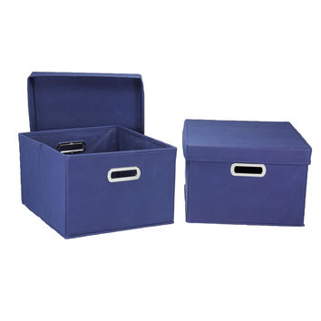 Household Essentials 2-piece Side Storage Bin Set