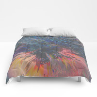 Glitch Wave Comforters by duckyb