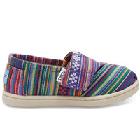 TOMS Purple Woven Tiny TOMS Classics No color specified