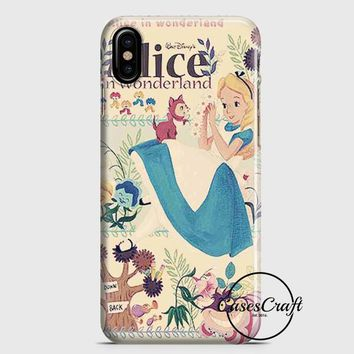 Alice In Wonderland Vintage iPhone X Case | casescraft