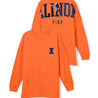 University of Illinois Bling Varsity Crew - PINK - Victoria's Secret