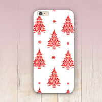 Christmas Pattern Phone Case  - iPhone 6 Case - iPhone 5 Case - iPhone 4 Case - Samsung S4 Case - iPhone 5C - Tough Case - Matte Case