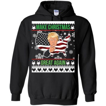 Make Christmas Great Again Donald Trump Ugly Sweater