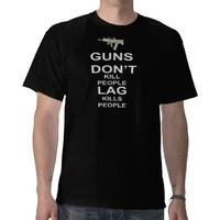 Gamer:  lag kills people for dark T-Shirts from Zazzle.com