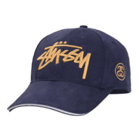 Navy Blue Fashion Stussy Baseball hat Hat