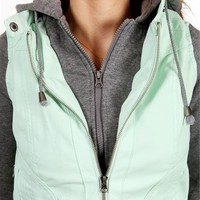 Aqua Knit Hooded Jacket
