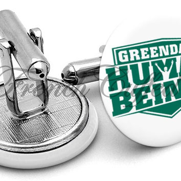Greendale Human Beings Community Cufflinks