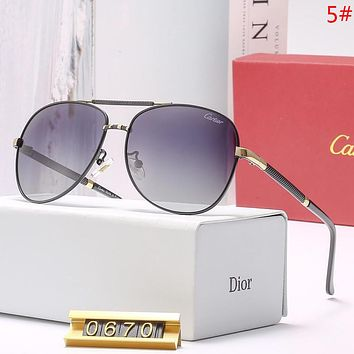 Cartier Fashion New Polarized Sunscreen Travel Women Men Eyeglasses Glasses