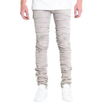 Embellish Nyc Cano Jeans In Grey - Beauty Ticks