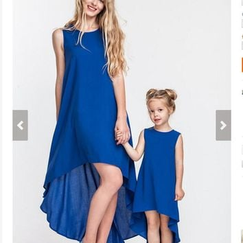 family matching outfits mother daughter casual dress
