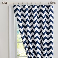 Chevron Blackout Drape