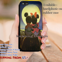 Romantic Mickey Minnie Mouse iPhone 6s 6 6s+ 5c 5s Cases Samsung Galaxy s5 s6 Edge+ NOTE 5 4 3 #cartoon #animated #disney #MickeyMouse dl9