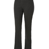 LE3NO Womens Mid Rise Long Flared Leg Yoga Pants (CLEARANCE)