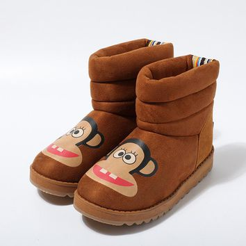 On Sale Hot Deal Cartoons Cotton Boots [79792046105]