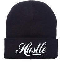 Headwear - Hustle 2.0 embroidery beanie