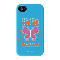 Sassy - Hello Gorgeous #10433 Full Wrap Premium Tough case for iPhone 4/4s by Sassy Slang