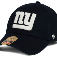 New York Giants NFL Black White '47 FRANCHISE Cap