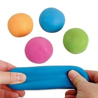 "Pull, Stretch, and Squeeze 2.25"" Ball (Colors May Vary)"