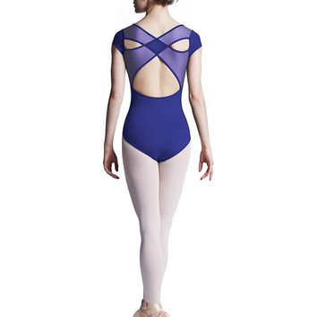 X Back Cap Sleeve Leotard L8152 by Bloch