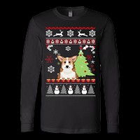 Corgi Christmas Ugly Sweater