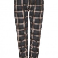 Boutique 1 - ISABEL MARANT ETOILE - Multi Umber Cotton Plaid Pant | Boutique1.com
