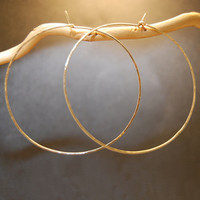 Hoop Earrings - XXXL - GOLD