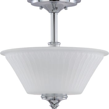 Semi Flush Mount Ceiling Lighting Fixture