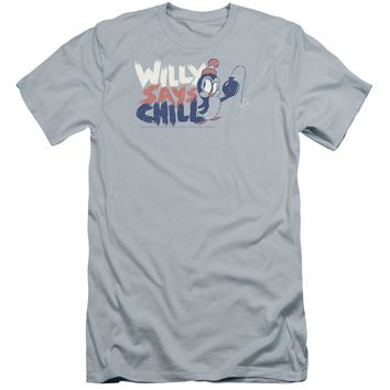 Chilly Willy - I Say Chill Premuim Canvas Adult Slim Fit 30/1