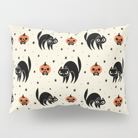 Scaredy Cat Pillow Sham by therewillbecute