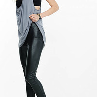 High Rise (minus The) Leather Legging from EXPRESS