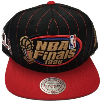 Chicago Bulls 1996 NBA Finals Snapback Hat