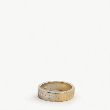 MAISON MARGIELA Numbers argento silver ring
