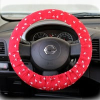 Steering-wheel-cover-cheetah-wheel-car-accessories-Birds-Steering-Wheel-Cover