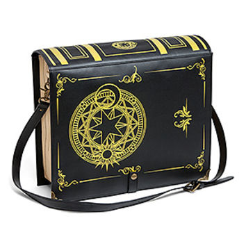 Black Magic Spellbook Messenger Bag - Exclusive