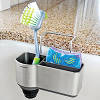Sink Caddy, Sink Sponge & Brush Holder,  Sponge Rack | Solutions