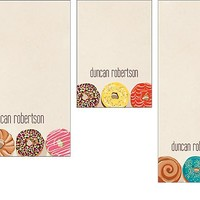 Personalize Donuts Mixed Personalized Notepads | Paper Source