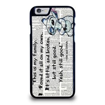 LILO AND STITCH QUOTES Disney iPhone 6 / 6S Case