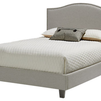 Belfield Silver 3 Pc Queen Bed