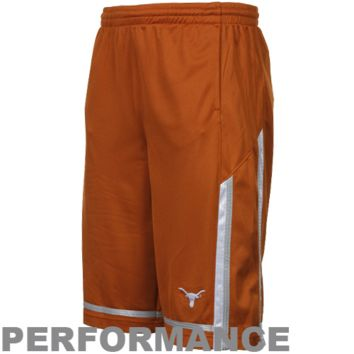Nike Texas Longhorns Youth Tourney Performance Basketball Shorts - Burnt Orange