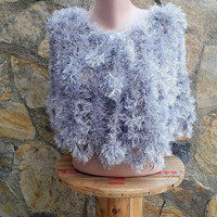 Faux Fur Cape Poncho Capelet Wedding Shawl Bridal Shawl Bridesmaid Shawl Anniversary Shawl Wedding Cape  Accessories Elegant Shoulder Wrap