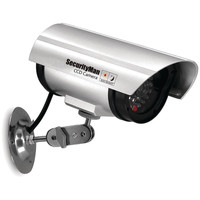 Security Man Simulated Indoor Camera With Led