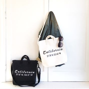 Custom Personalized City Tote Perfect For Welcome Wedding Bag