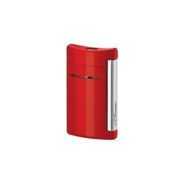 ST  Dupont Sleek Modern MiniJet Mini Jet Fiery Red Torch Flame cigarette Lighter