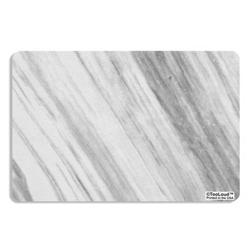 White Marble Pattern Placemat All Over Print by TooLoud