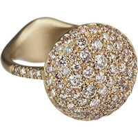 Pink Diamond Baby Sand Ring