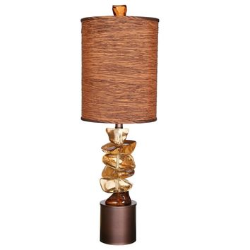 "Van Teal 763072 River Rock 37"" Table Lamp"