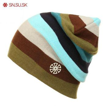 ac NOOW2 SNSUSK Brand Winter Snowboard Ski hat Skating Lot Caps Skullies And Beanies For Men Women Rainbow Color Hip Hop Caps 02-9072