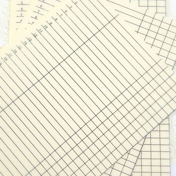Vintage Ledger Paper. Notebook Paper. Lined Journal Paper. Old Paper. Graph Paper. Journal Paper. Junk Journal Paper. Planner Paper. List.