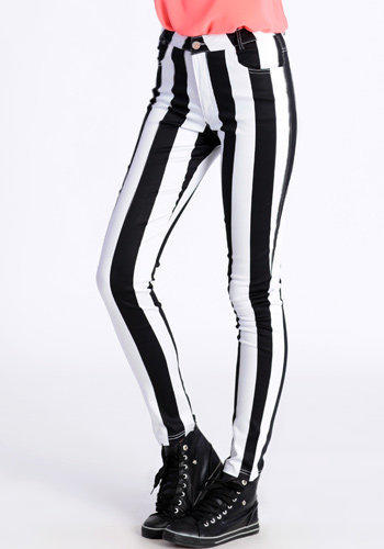 Jordan Striped Pants by Motel - $80.00 : ThreadSence.com, Your Spot For Indie Clothing & Indie Urban Culture