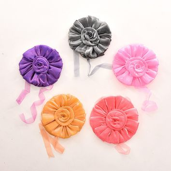 Fashion Window Curtain Tieback Clip-on Rose Flower Tie Holder Drape Decoration